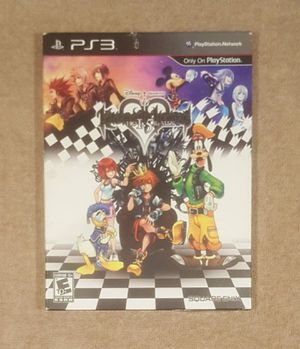 COLLECTOR'S ED KINGDOM HEARTS 1.5 (SONY PS3 2013) for Sale in Tucson, AZ