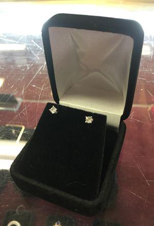 1/4 carat diamond earrings for Sale in Austin, TX