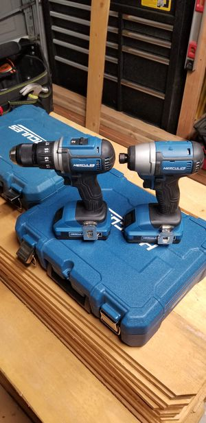 20V Hercules drill/impact driver set for Sale in Patterson, CA