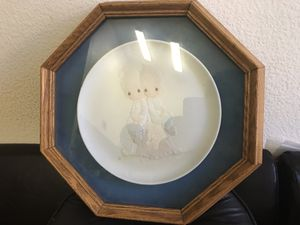 Vintage frame plate precious moment for Sale in Las Vegas, NV