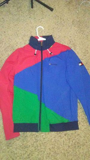 Tommy Hilfiger Multi Color Windbreaker SIZE: M for Sale in Chandler, AZ