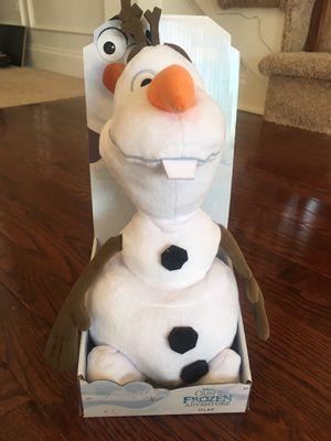 New: Olaf plush doll for Sale in Aldie, VA