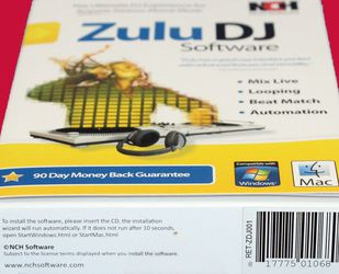 Zulu DJ Mix Loop Beat Match Automate Software for Windows Mac for Sale in San Jose,  CA