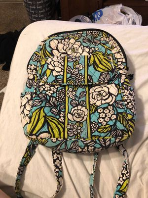 Vera Bradley small backpack purse with makeup pouch/pencil case for Sale in Ballwin, MO