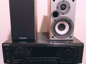 Sony surround sound Receiver and Mission Shelf speakers for Sale in Saint Paul, MN