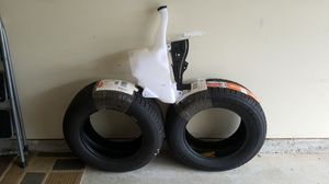 Tires and windshield washer reservoir for Sale in Douglasville, GA