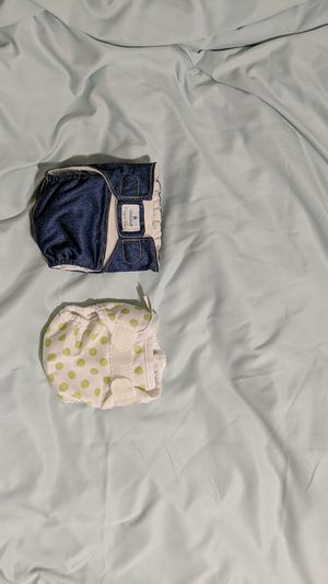 Cocalo and bummis newborn diapers for Sale in Palo Alto, CA