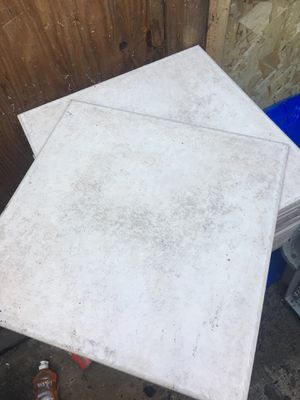 "12""x 12"" beige tiles for Sale in Portland, OR"
