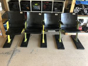 Pittsburgh Steelers man cave stadium seats for Sale in Colliers, WV