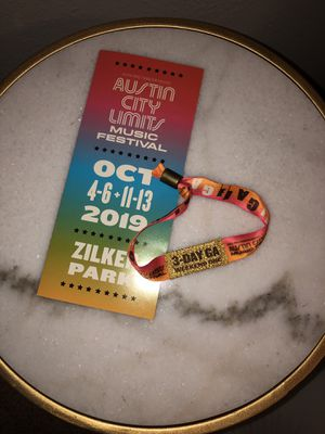 ACL wristband weekend one for Sale in Richardson, TX