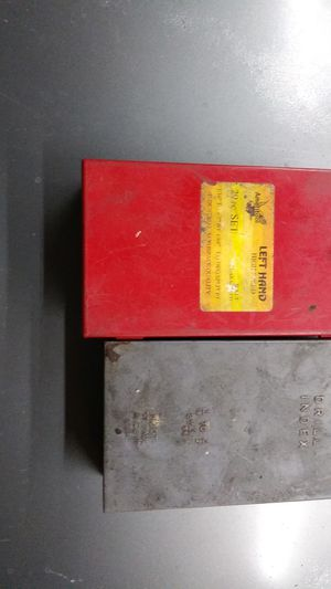 Left-handed and regular drill bit indexs for Sale in Rialto, CA