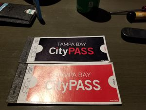 Tampa bay city pass for Sale in Pinellas Park, FL