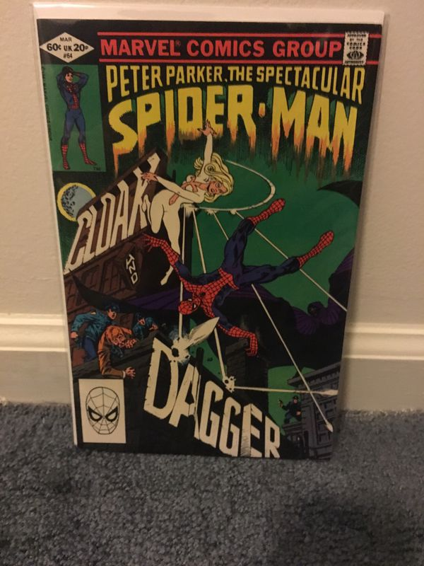 Spectacular Spider Man #64 first Cloak and Dagger.