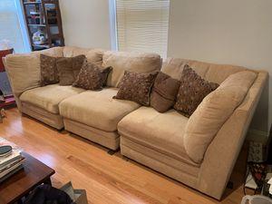 Modular Couch + Cushions for Sale in Washington, DC