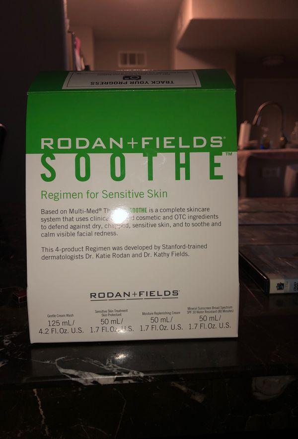 Soothe regimen Rodan and Fields steps 1-4