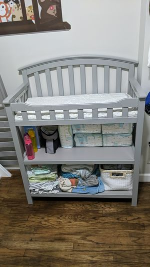 Grey changing table for Sale in Federal Way, WA