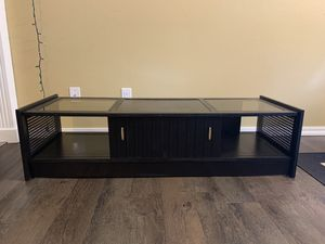 Black tv stand/coffee table for Sale in Federal Way, WA