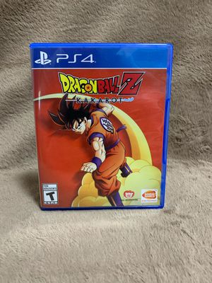 Dragon Ball Z Kakarot (PS4) for Sale in Cocoa, FL