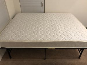 Queen and twin mattress & frames for Sale in Gainesville, VA