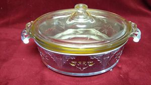 Vtg. Pyrex Oval Serving Dish with Lid and Server for Sale in Las Vegas, NV