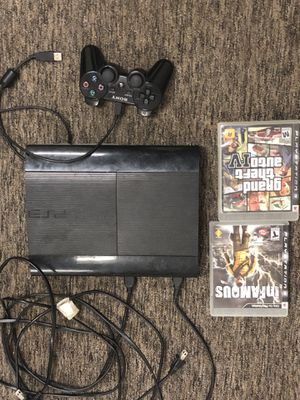 1Tb fat body backwards compatible ps3 for Sale in Cleveland, OH