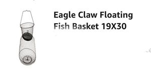 Eagle claw floating fish basket for Sale in Affton, MO