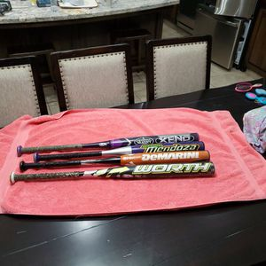 Girls Softball Bats: $25 each, your pick for Sale in Bakersfield, CA