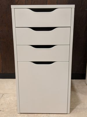 IKEA Alex Drawers with Filing Cabinet (White) for Sale in Santa Ana, CA
