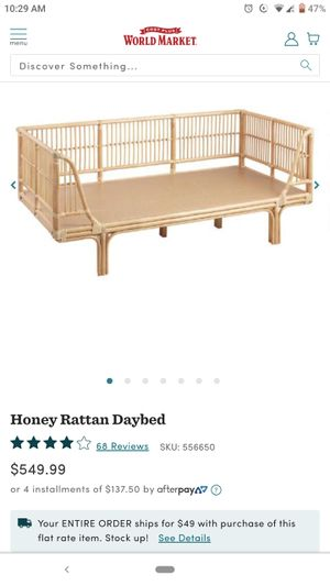 Bamboo bed frame (Twin) for Sale in Portland, OR
