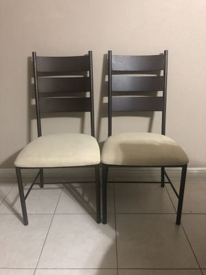 Room And Board Metal Dining Chairs for Sale in Phoenix, AZ