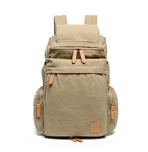 """Traveling Outdoor Canvas Backpack Hiking Camping Heavy Duty Daypack Rucksack School Backpack Shoulder Bags Fits 15"""" Laptop Tablets for Sale in San Diego, CA"""