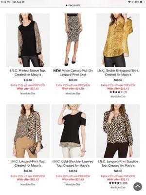 Ladies fashion clothes for Sale in Cream Ridge, NJ