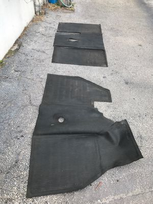 Vw beetle rubber mats 1960 to 1964 black for Sale in Pompano Beach, FL