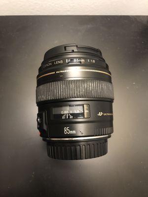 Canon 85mm 1.8 USM for Sale in Pompano Beach, FL