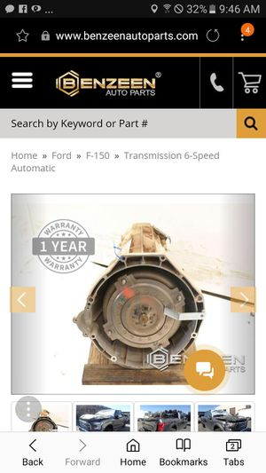 2015 ford f150 transmission for Sale in Columbia, TN