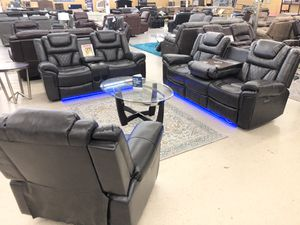 BRAND NEW POWER SOFA LOVE AND CHAIR WITH BLUETOOTH SPEAKER 🔈 AND USB CHARGE for Sale in Fort Worth, TX