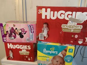 Baby diapers for Sale in Clearwater, FL