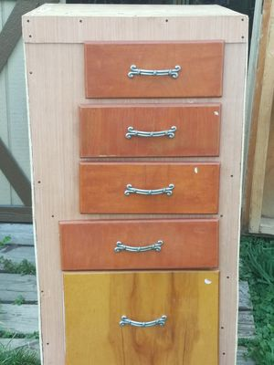 Home made dresser easy to open drawers for Sale in Girard, PA