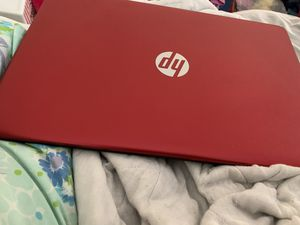HP Laptop 15.6 inches red for Sale in Palm Bay, FL