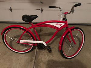 Budweiser cruiser bike for Sale in Parma, OH