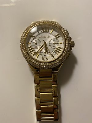 Authentic Michael Kors Ladies watch with extra links. for Sale in Chantilly, VA