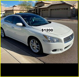 2009 Nissan Maxima only$1200 for Sale in Sacramento, CA