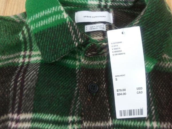 (Bulk sale)Brand new urban outfitter flannel shirts an sweat
