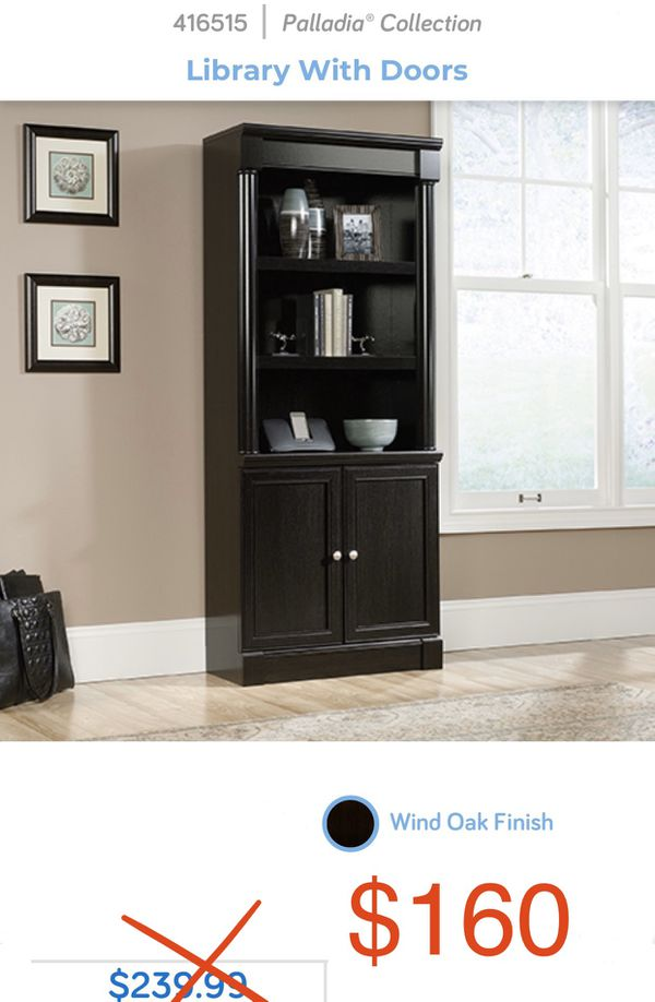 NEW!! Library with doors. #416515
