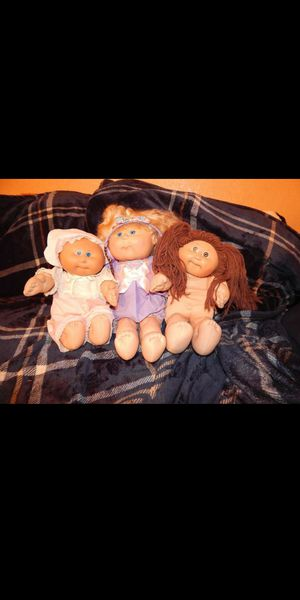 3 Cabbage Patch dolls for Sale in Las Vegas, NV