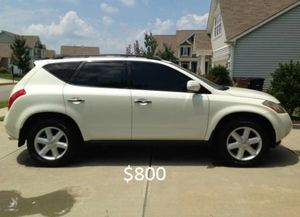 Very clean Nissan Murano 2O03 4WD-Wheelsss for Sale in Aurora, CO