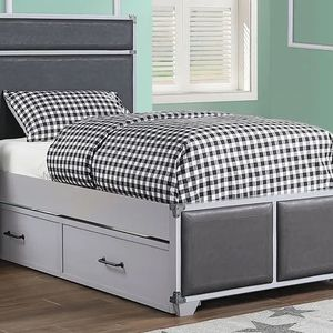 Marianne Twin size platform bed with trundle- $498.00 Available Also In Full Size-Hot Buy! In Stock ! Free Delivery 🚚 for Sale in Ontario, CA