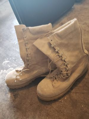 Size 10.5 insulated military boots for Sale in Waynesville, MO
