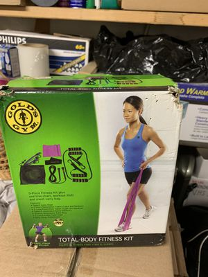 Golds gym fitness kit for Sale in Boston, MA
