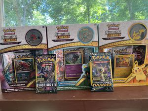 Pokemon shining legends pin collection box for Sale in Orange, CT